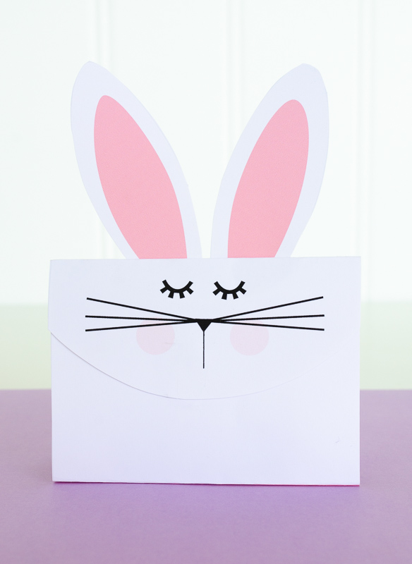 Bunny Gift Bag PRINTABLE by Lindi Haws of Love The Day