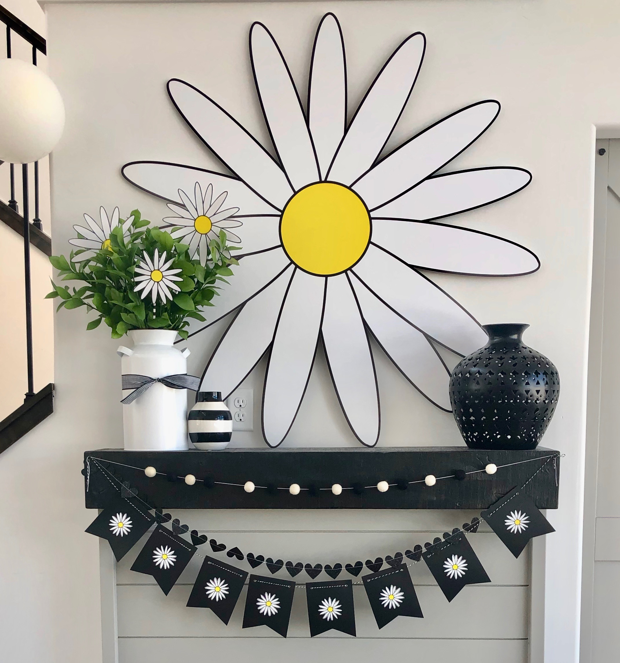 Daisy Backdrop by Lindi Haws of Love The Day