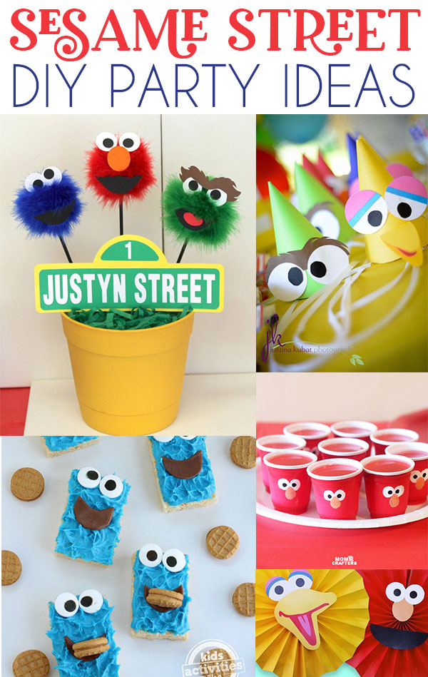 12 Sesame Street Party Ideas on Love The Day