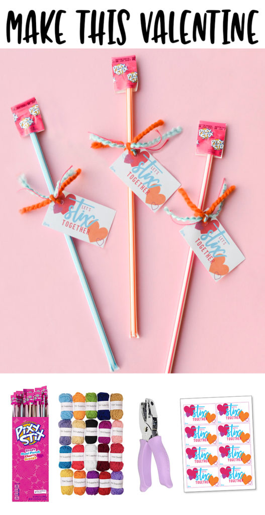 Pixy Stix Valentine Saying & PRINTABLE TAGS by Lindi Haws of Love The Day