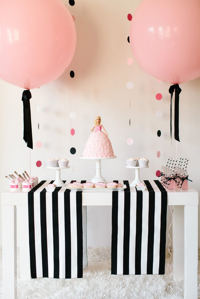 Barbie Ideas for Birthday Party