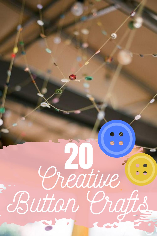20 creative button crafts