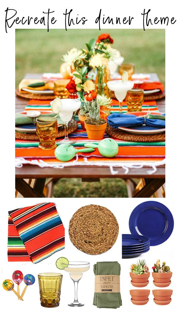Fiesta Dinner Theme Ideas
