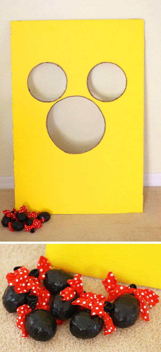 DIY Ball Toss Game
