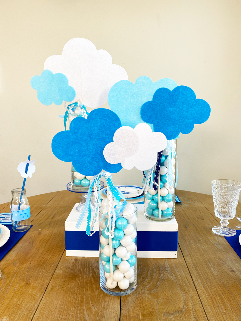 How To Make A Gender Neutral Baby Shower Centerpiece on Love The Day