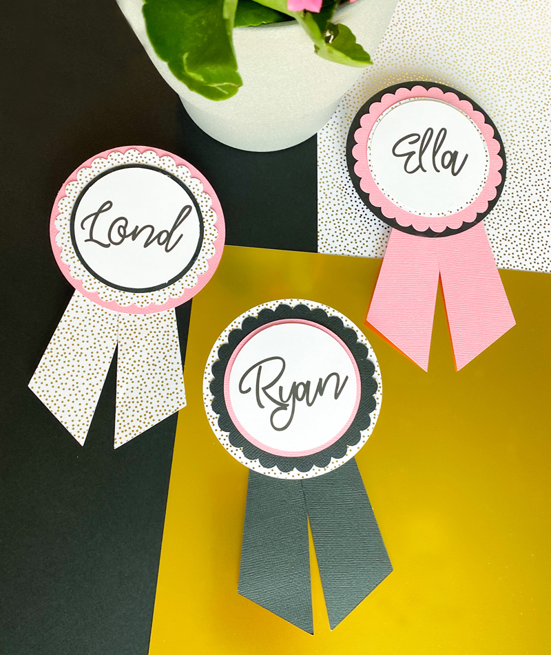 Wedding Name Tags Ideas on Love The Day