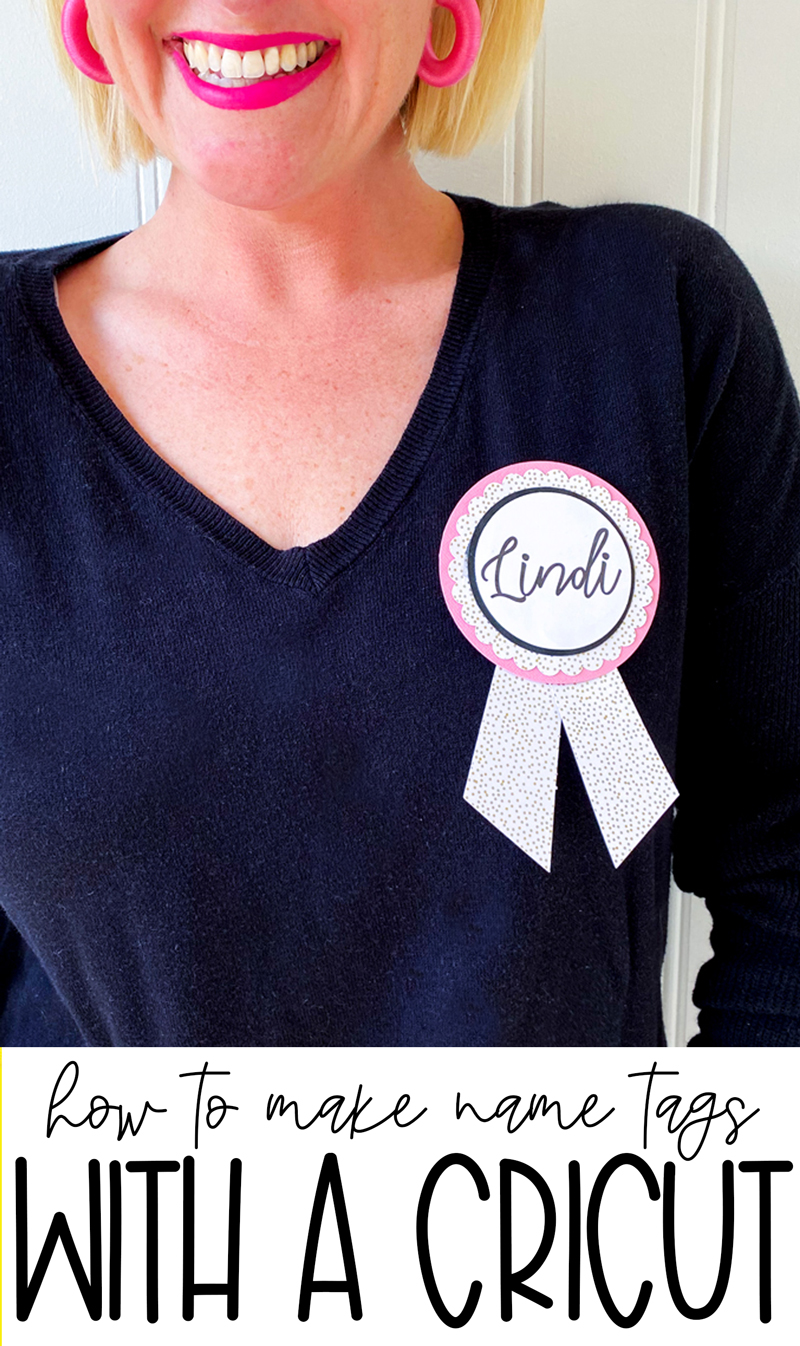 How To Make Wedding Name Tags with your Cricut   Love The Day by Lindi Haws