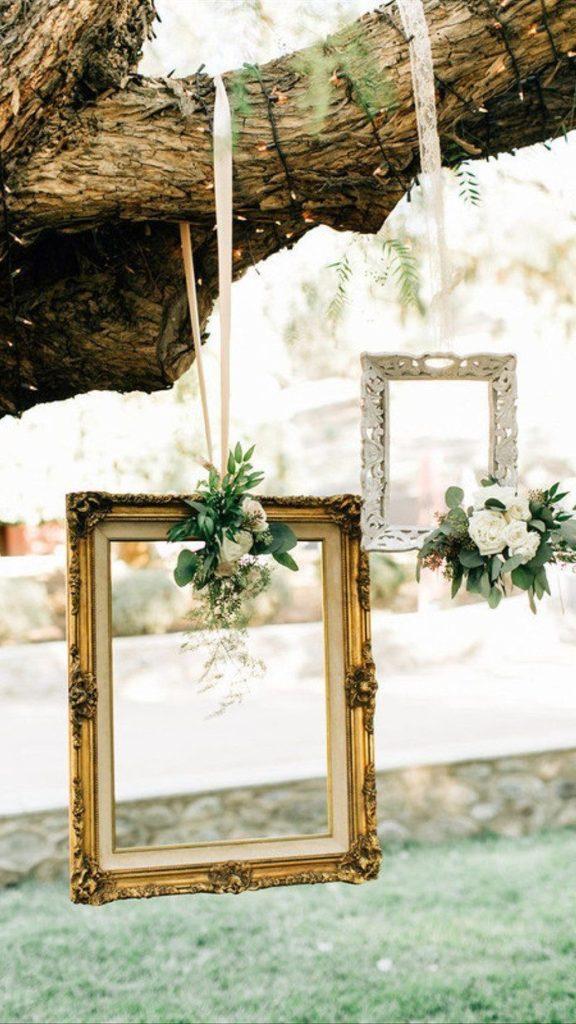 Framed Wedding Decor