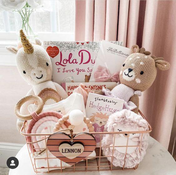 Girly Gift Basket